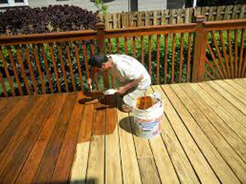 Deck Refinishing Staining